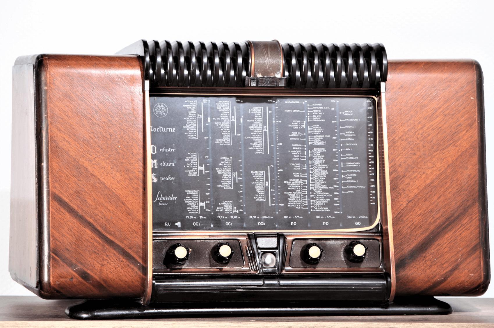 comparatif radio vintage