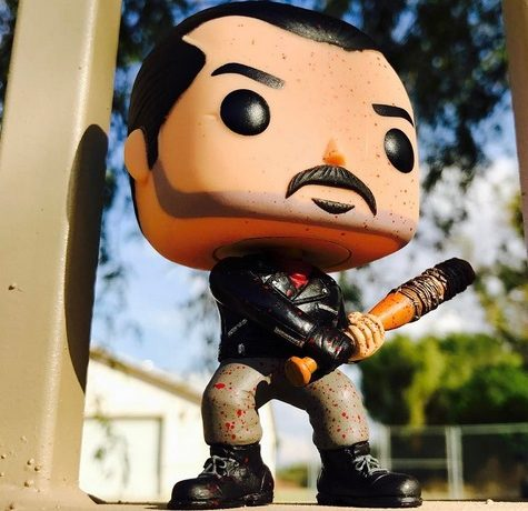 figurine pop walking dead
