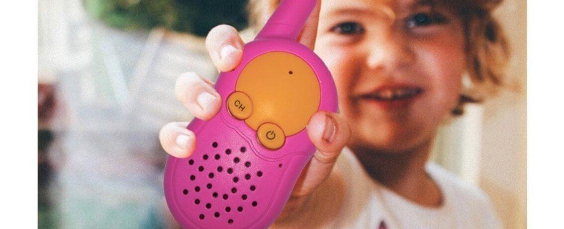 talkie-walkie pour enfant